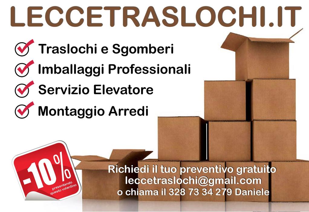 Traslochi trasporti sgomberi a Lecce